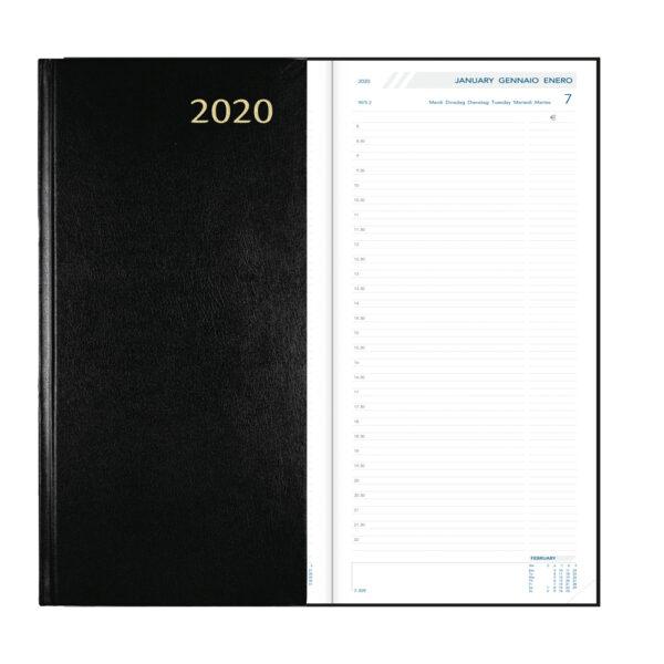 Diary Longo 2020 Black