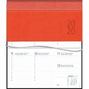 Diary Novoplan 2020 Orange