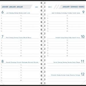 Diary Visuplan 2020 Comb Bound