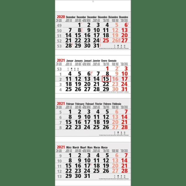 shipping calendar 4 months Maxi 2021