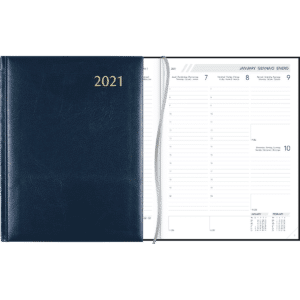 Diary Business blue 2021