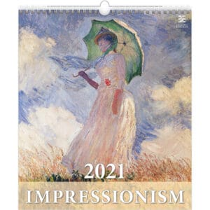 Wall calendar Art Impressionism 2021