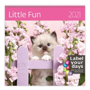Wall calendar 30x30 Little Fun 2021