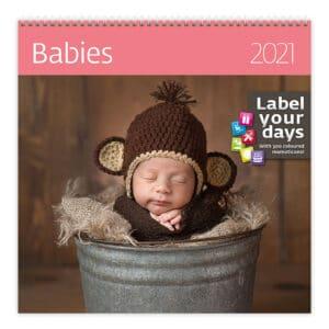 Wall calendar 30x30 Babies 2021