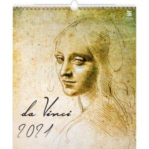 Wall calendar Art Leonardo da Vinci 2021