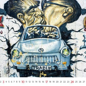 Wall calendar Street Art 2021 January