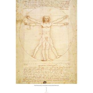 Wall calendar Art Leonardo da Vinci 2021 January
