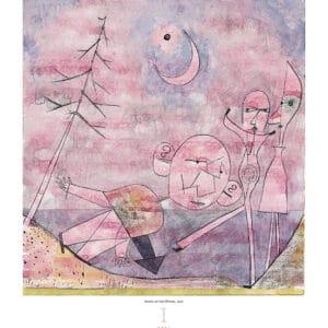Wall Calendar Art Paul Klee 2021 January