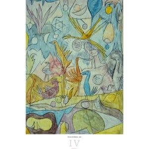 Wall Calendar Art Paul Klee 2021 April
