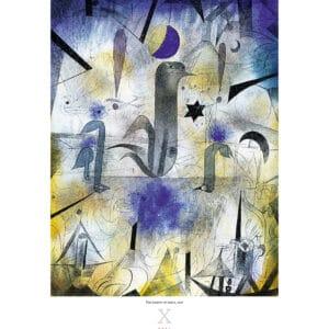 Wall Calendar Art Paul Klee 2021 October