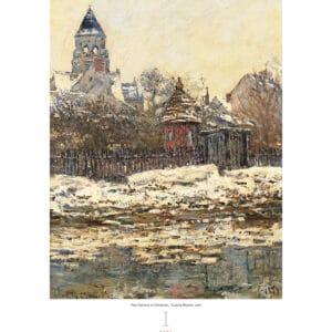 Wall calendar Art Impressionism 2021 January