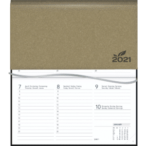 Diary Novoplan 2021 beige