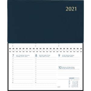 Diary Novoplan Comb bound 2021 Blue