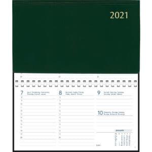 Diary Novoplan Comb bound 2021 Green