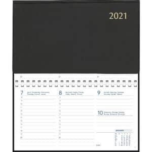 Diary Novoplan Comb bound 2021 Black