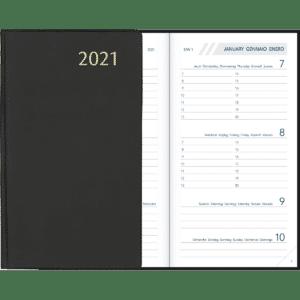 Diary Visuplan 2021 Black