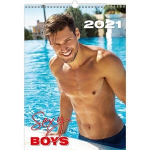 Wall calendar Sexy Boys 2021