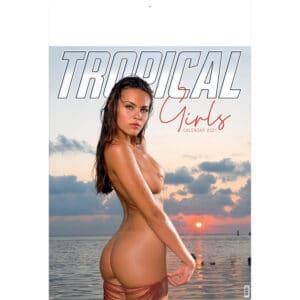 Wall calendar Tropical Girls 2021
