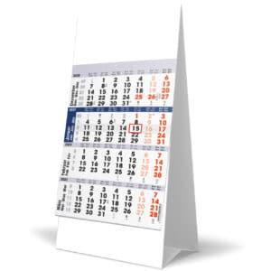 Desk calendar 4 months 2021