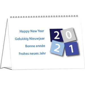 Desk calendar International 2021 cover
