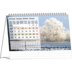 Desk calendar Silent Moments 2021 January