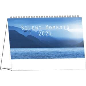 Desk calendar Silent Moments 2021