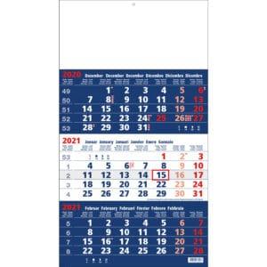 shipping calendar 3 months focus 2021