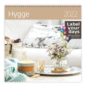 Wall calendar Hygge 2022