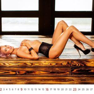 Calendar pinup Flirt 2022 January