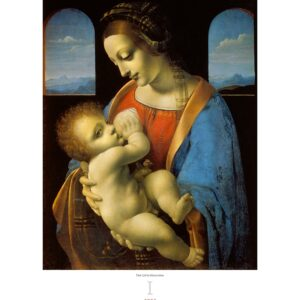 Art calendar Leonardo da Vinci 2022 January