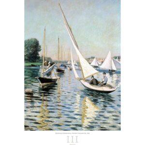 Art calendar Impressionism 2022 March