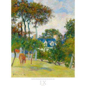 Art calendar Impressionism 2022 September