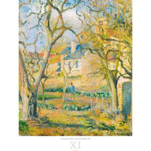 Art calendar Impressionism 2022 November