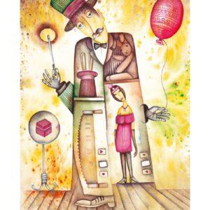 Art calendar Art Naive 2022 February