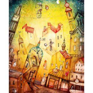 Art calendar Art Naive 2022 May