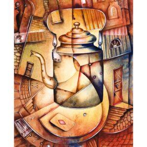 Art calendar Art Naive 2022 September
