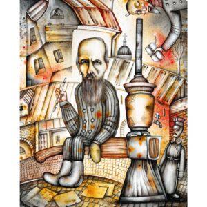Art calendar Art Naive 2022 October