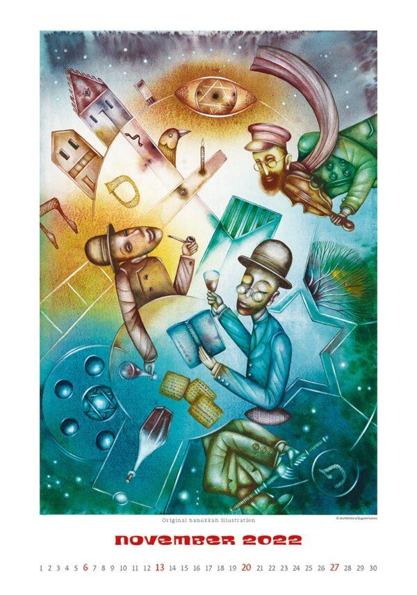 Art calendar Art Naive 2022 November
