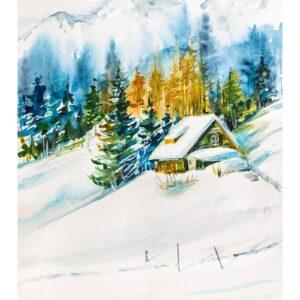 Calendar Aquarelle 2022 January