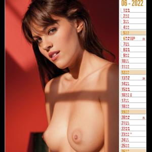 Calendar pinup Top Exclusive 2022 June