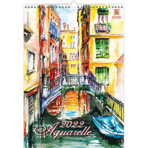 Calendar Aquarelle 2022