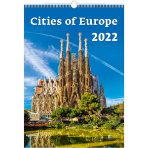 Wall calendar Cities of Europe 2022