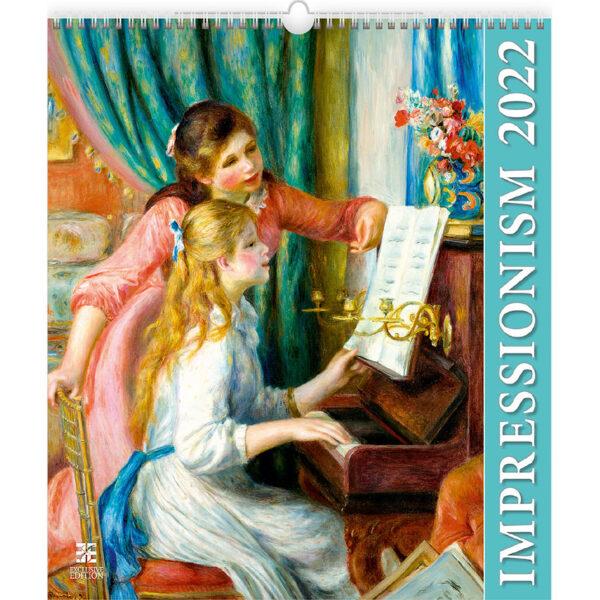 Art calendar Impressionism 2022
