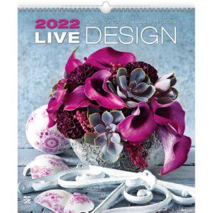Wall calendar Live Design 2022