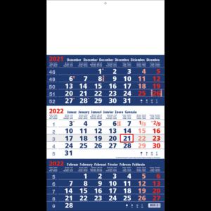 Shipping calendar 3 months 2022 Focus
