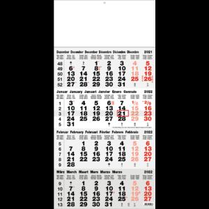 Shipping calendar 4 months 2022 Classic grey