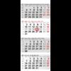 Shipping calendar 4 months Maxi 2022 grey