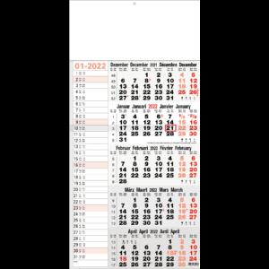 Shipping calendar 5 months 2022 Memo
