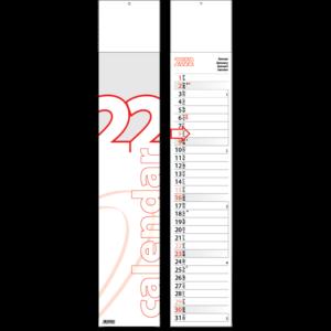 Slim line calendar Midi 2022