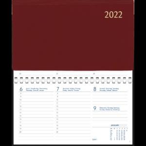Novoplan comb bound 2022 Burgundy